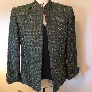 Jessica Howard Jacket Green Size 10